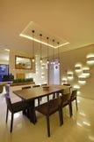 Sala de jantar em Calicut, Índia Imagens de Stock Royalty Free