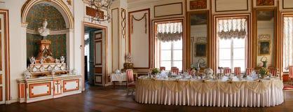 Sala de jantar em Kuskovo Imagens de Stock Royalty Free