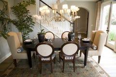 Sala de jantar festiva Imagens de Stock Royalty Free