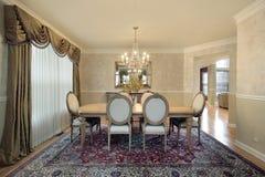 Sala de jantar formal imagens de stock royalty free