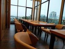 Sala de jantar longa do vip Fotografia de Stock Royalty Free