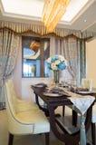 Sala de jantar luxuosa Imagem de Stock Royalty Free