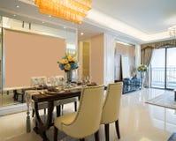 Sala de jantar luxuosa Foto de Stock Royalty Free