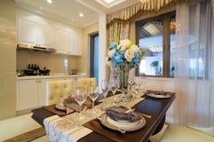 Sala de jantar luxuosa Fotografia de Stock