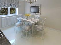 Sala de jantar luxuosa bonita Imagem de Stock