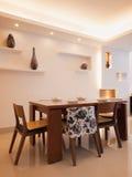 Sala de jantar moderna Fotos de Stock