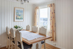 Sala de jantar moderna Foto de Stock Royalty Free