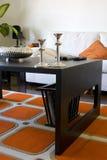 Sala de jantar moderna na moda Imagens de Stock Royalty Free