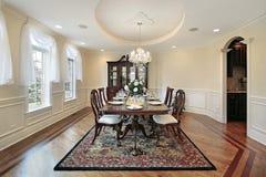 Sala de jantar na HOME luxuosa Fotografia de Stock Royalty Free