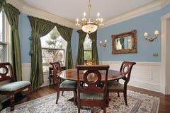 Sala de jantar na HOME luxuosa Fotos de Stock Royalty Free