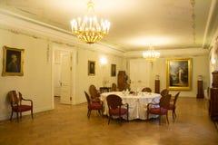 A sala de jantar no solar Fotografia de Stock Royalty Free