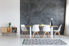 Sala de jantar simples Foto de Stock Royalty Free