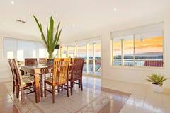 Sala de jantar telhada luxuoso Foto de Stock Royalty Free