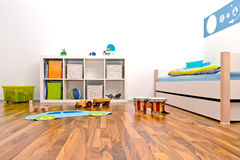 Sala de juegos de los niños Fotografía de archivo libre de regalías