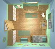 Sala de Kids' Fotografia de Stock Royalty Free