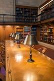 Sala de leitura e teto principais de Rosa na biblioteca pública de New York, NYC Imagem de Stock
