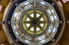 Sala de leitura octogonal histórica no terreno da faculdade de Bendigo TAFE imagem de stock