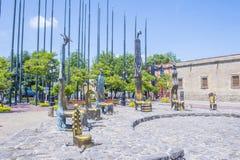 Sala De Los Magos stock afbeelding