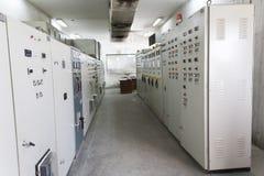 Sala de mando Fotos de archivo libres de regalías