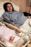 Sala de maternidad Fotos de archivo