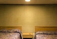 Sala de motel só foto de stock