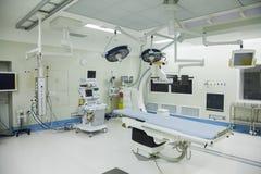 Sala de operaciones con el equipo quirúrgico, hospital, Pekín, China fotos de archivo libres de regalías