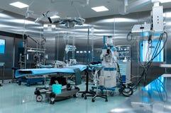 Sala de operaciones en cirugía cardiaca Fotografía de archivo libre de regalías