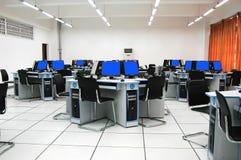 Sala de ordenadores Fotografía de archivo