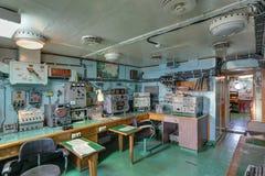 Sala de rádio Imagem de Stock