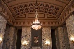 Sala de recepción, capitol del estado de Washington Fotografía de archivo libre de regalías
