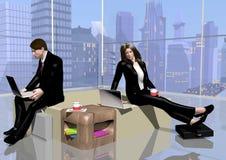 Sala de relaxamento do negócio Imagens de Stock Royalty Free