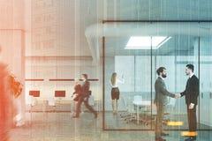 Sala de reunião e espaço aberto, dobro dos povos Imagens de Stock