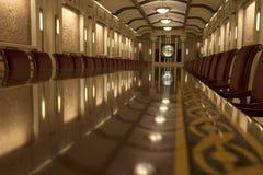 Sala de reunião na adega de Cricova imagem de stock royalty free
