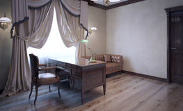 Sala de reunião na casa inglesa Fotos de Stock Royalty Free