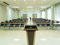 Sala de reunión Imágenes de archivo libres de regalías
