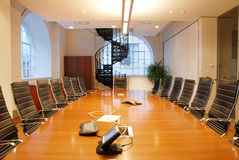 Sala de reunión Fotos de archivo