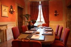 Sala de reunión Imagen de archivo libre de regalías