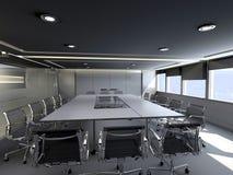 Sala de reunión de la oficina Imagen de archivo libre de regalías