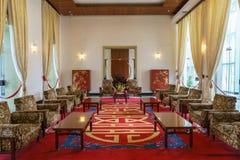 Sala de reunión del presidente en el palacio de la independencia Fotos de archivo