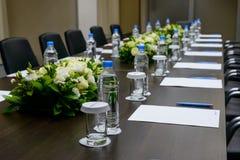 Sala de reunión en el centro de la oficina Imagen de archivo