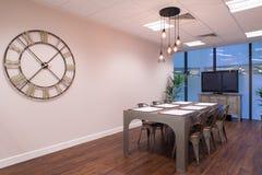 Sala de reunión industrial del estilo Imagen de archivo libre de regalías