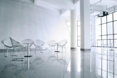 Sala de reunión moderna Imagenes de archivo
