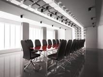 Sala de reunión moderna 3d interior Foto de archivo