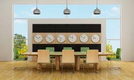 Sala de reunión moderna Imagen de archivo libre de regalías
