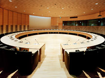 Sala de reuniões Foto de Stock Royalty Free