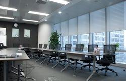 Sala de reuniões vazia imagem de stock royalty free
