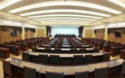 Sala de reunión grande Fotografía de archivo libre de regalías