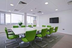 Sala de reunión moderna de la oficina Foto de archivo