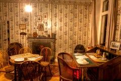A sala de Talbot House, Poperinge, Bélgica Fotos de Stock Royalty Free