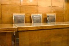 Sala de tribunal fotos de archivo libres de regalías